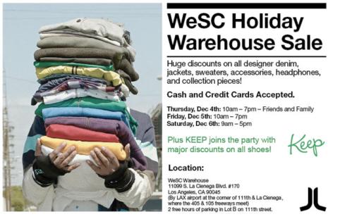wesc-sale