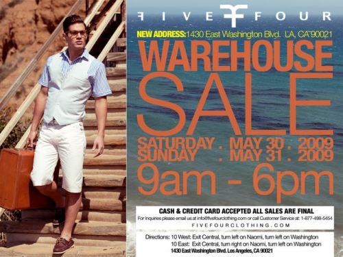 five-four-sale